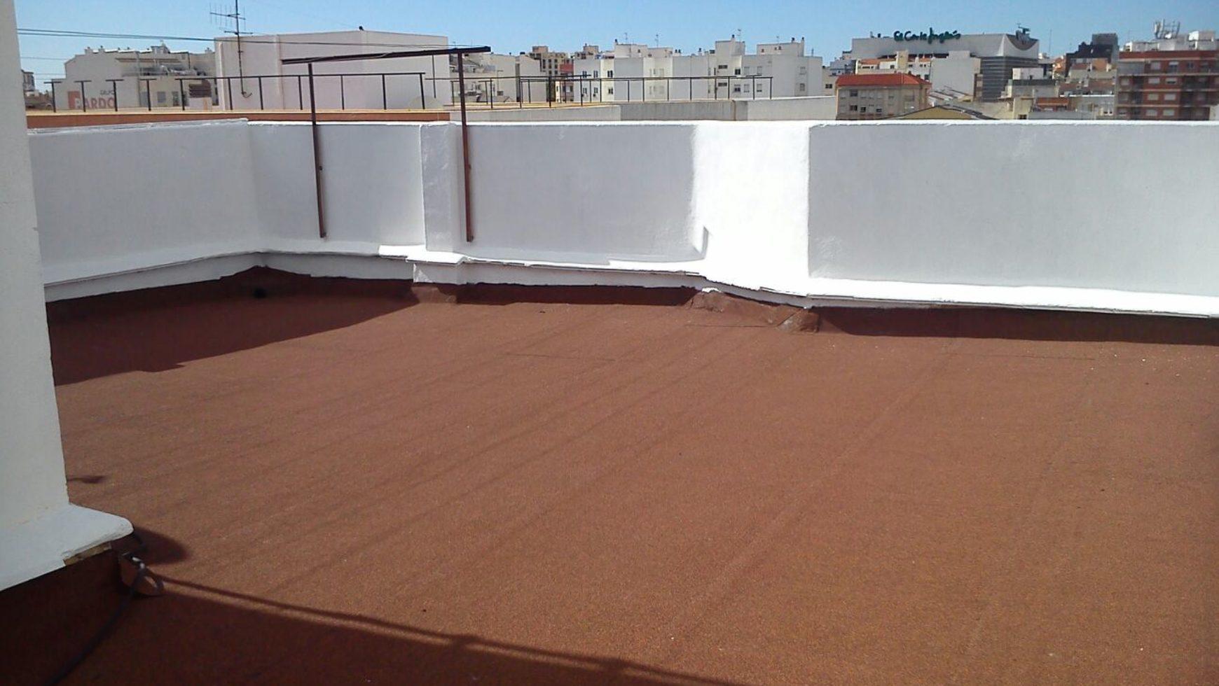 Rehabilitación de cubiertas: Comunidad de propietarios Avda. Quevedo (Castellón)